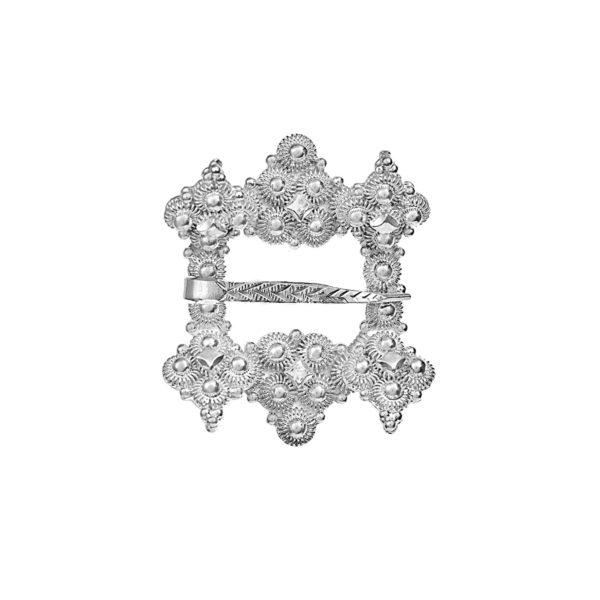 Liten Hornring i oksidert sølv