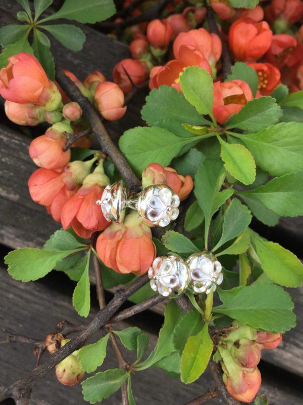 Mansjettknapper rose til barnebunad