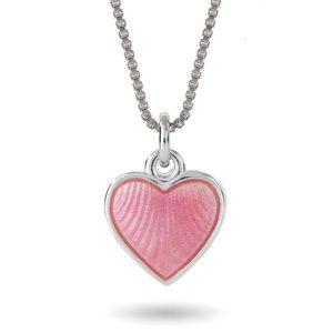 Rosa hjerte, lite 11701