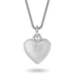 Hvitt hjerte, lite 11703