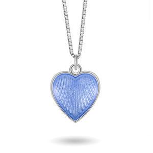Lys blått hjerte- 119702