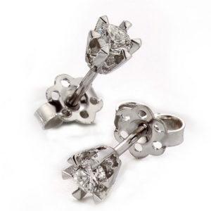 Enstens diamant ørepynt 16544015K