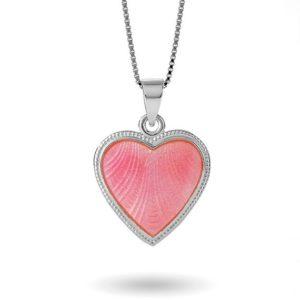 Rosa hjerte, stort 271701