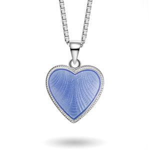 Lys blått hjerte, stort 271702