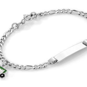 Grønn traktor armband - 44514