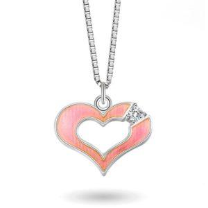 Rosa hjerte- 770001