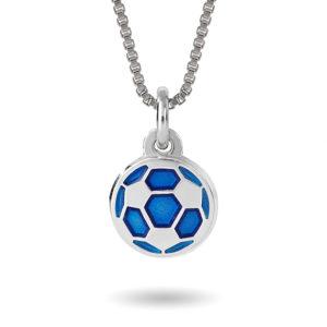 Blå fotball- 24702