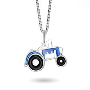 Blå traktor- 44702