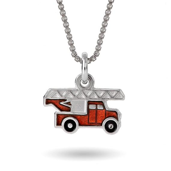 Rød brannbil- 12711