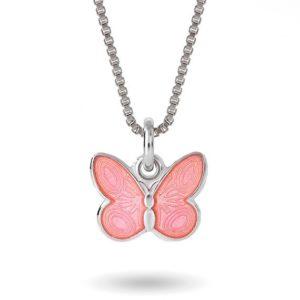 Rosa sommerfugl- 32701