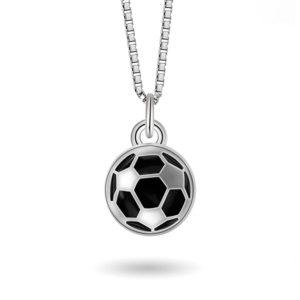 Sort fotball- 24706
