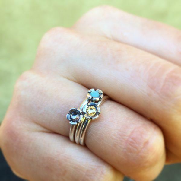 Huldresølv ring, 34072