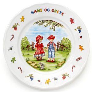 Tallerken Hans og Grete- 814