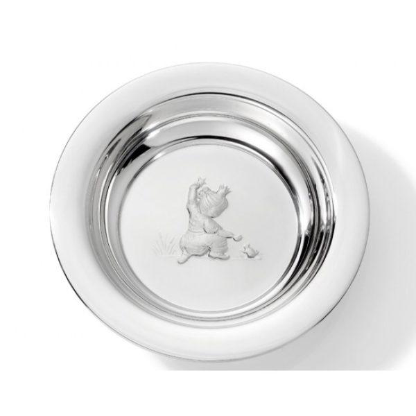 Sølvskål prinsesse 18352