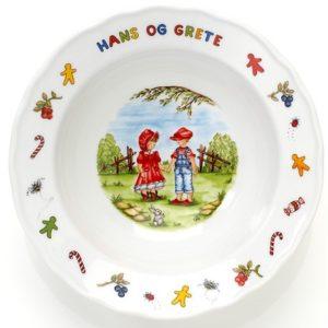 Grøtskål Hans og Grete- 813