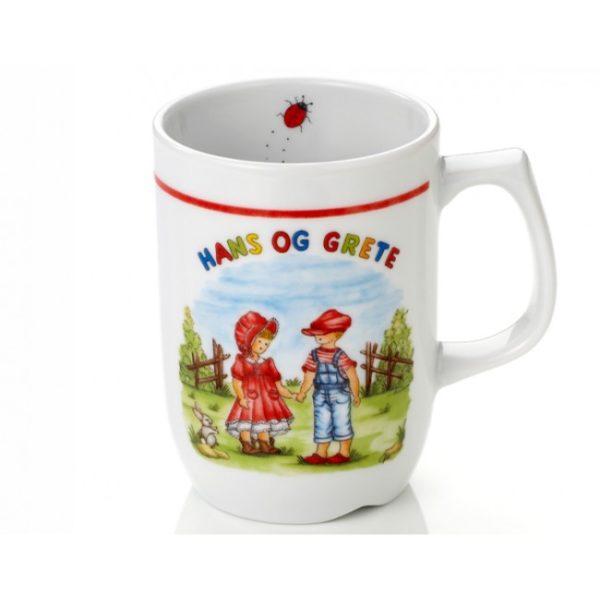 Porselenskrus Hans og Grete -812