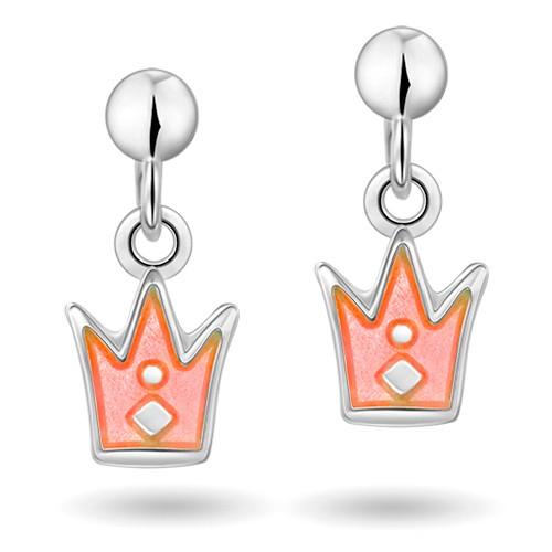 Rosa prinsessekrone øreheng 42000601