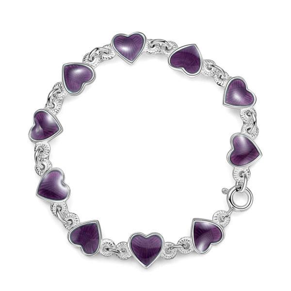 Lilla hjerte armband - 22218