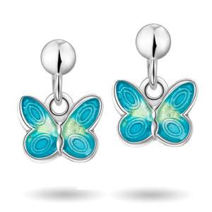 Turkise sommerfugler øreheng 32000613