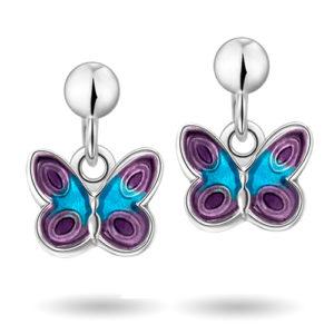 Lilla sommerfugler øreheng 32000617