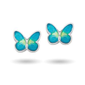Turkise sommerfugler ørestikk 3200613