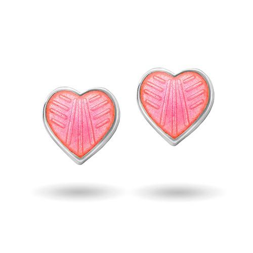 Rosa hjerte ørestikk 2200601
