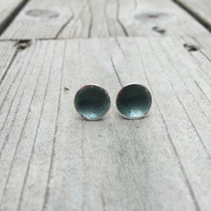 Embla boble ørepynt mørk grå- 1272