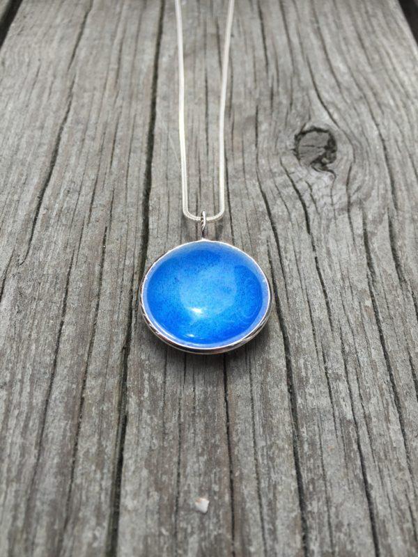 Embla boble anheng himmelblå- 1493a