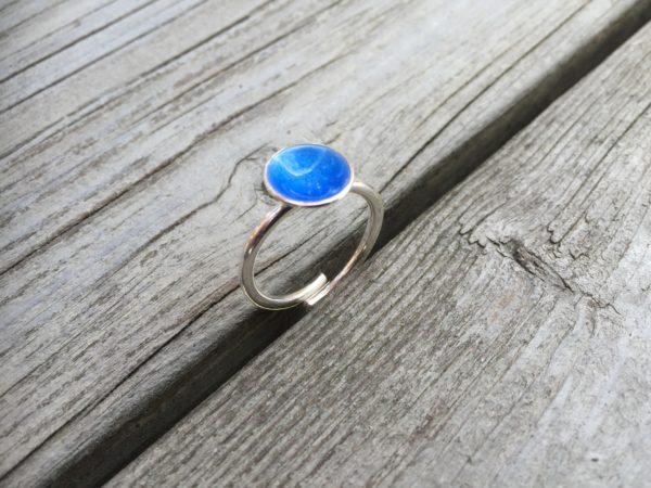 Embla boble ring himmelblå- 1495b