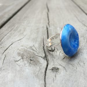 Embla rur ring himmelblå- 1465