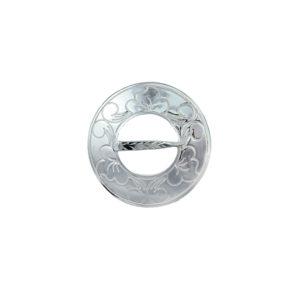 Halsring gravert liten 2334