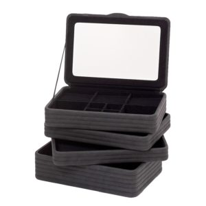 Smykkeskrin medium sort- 35164