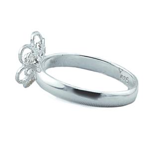 Ring 6 blads rose 9624