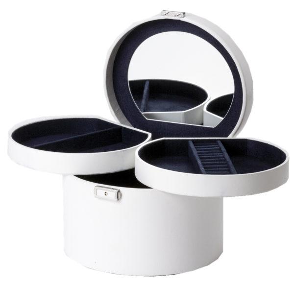 Smykkeskrin medium hvitt- 35613
