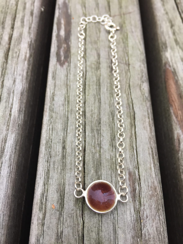 Embla boble armlenke sjokoladebrun- 1494