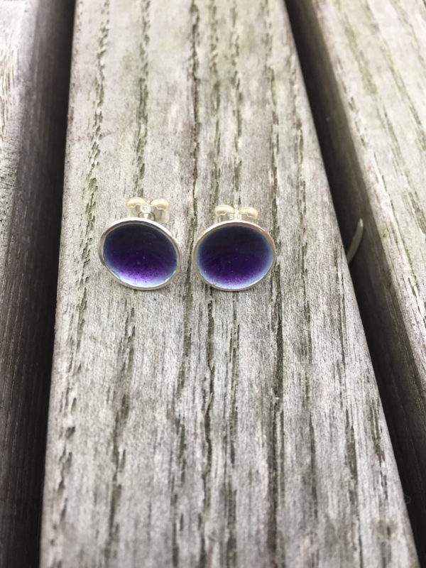 Embla boble ørepynt blålilla- 1272