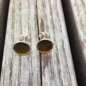 Embla boble ørepynt oliven 1272