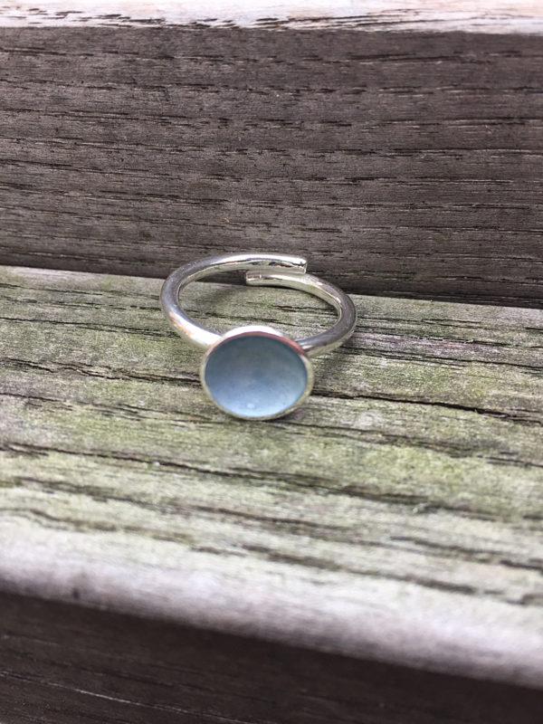 Embla boble ring lys grå- 1495b