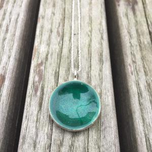 Embla boble anheng mørk grønn- 1493a