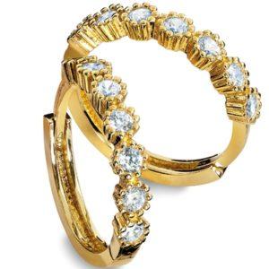 Carmen gull  ørepynt 46991