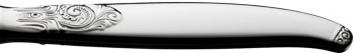 Telesølv, stor spisekniv 21,6 cm