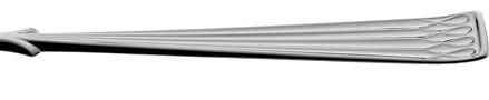 Arvesølv, stor spisegaffel 18,5 cm