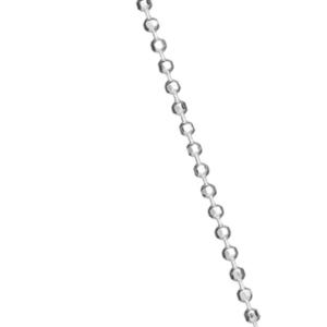 Huldresølv 80/90cm kulekjede 321194-60