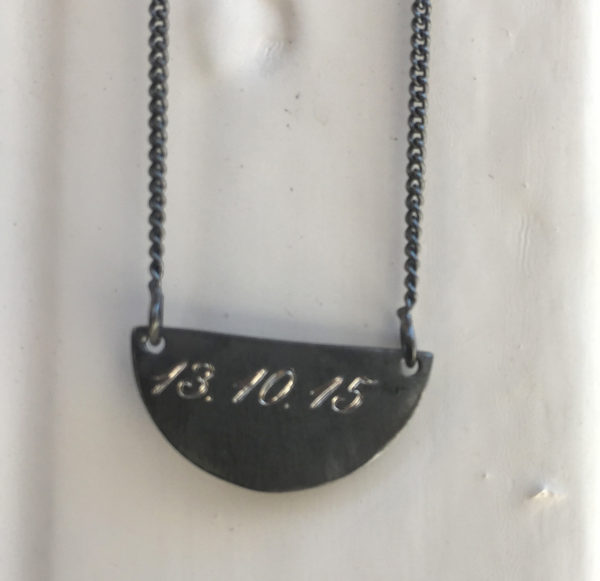Oksidert smykke Half- 825 642