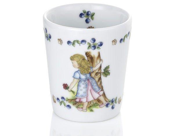 Porselenskrus Gullhår -1872