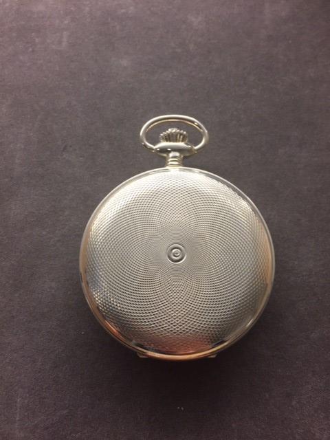 Festina lommeur i sølv F4075-4