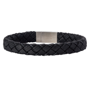 SON BRACELET BLACK CALF LEATHER 897 003