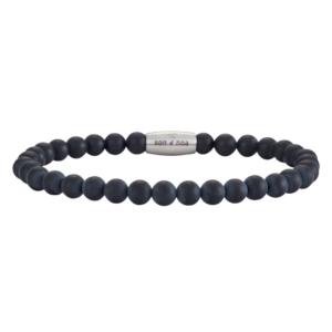 SON BRACELET MATT BLACK ONYX	898 004