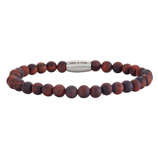 SON BRACELET MATT RED TIGER EYE 898 002