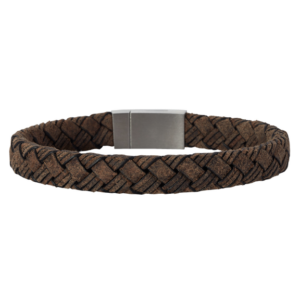 SON BRACELET GREY CALF LEATHER 897 003
